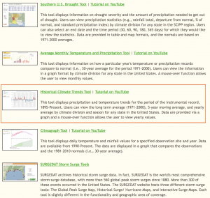 2014 07 19.SCIPP.Climate Trend Tool to open