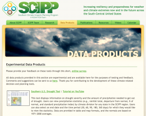 2014 07 19.SCIPP.Data Products page