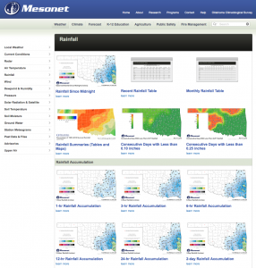 2015 03 13.Ag Blog.No 07.Mesonet Rainfall page One
