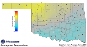 2015 04 13.Ag Blog.No 01.March 2015 Avg Air Temp Deviation