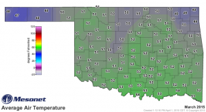 2015 04 13.Ag Blog.No 02.March 2015 Avg Air Temp