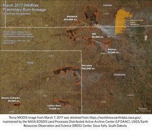 2017-03-09.NW OK Complex Fire.map by Chris Hise.Texas Nature Conservancy