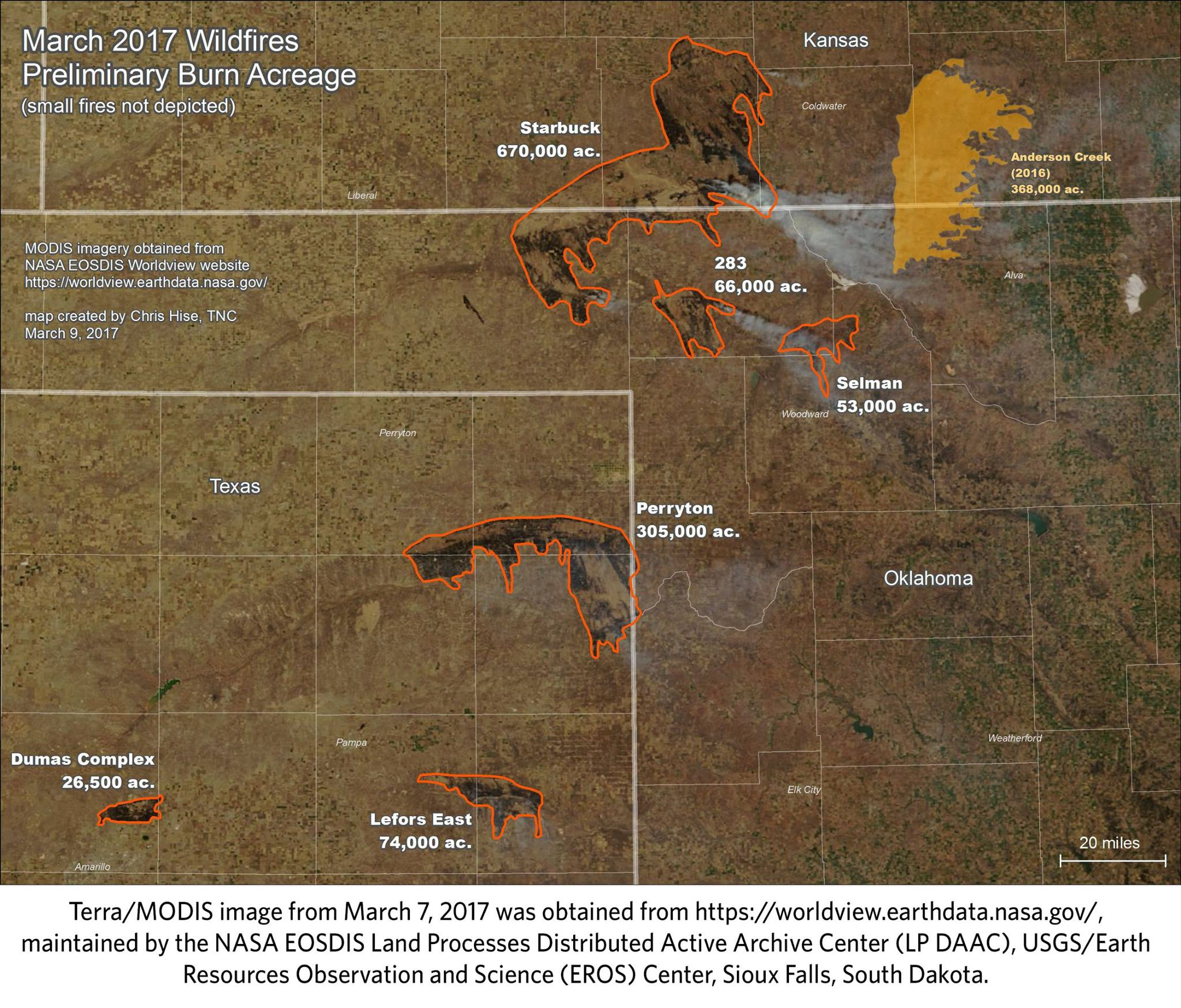 February\'s Weather Role in NW Oklahoma Complex Fires (part 1 of 3 ...